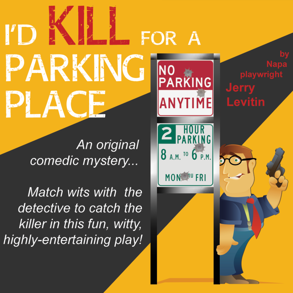 I'd Kill for a Parking Place by Jerry Levitin