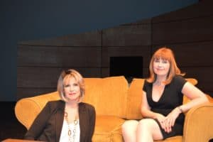Rhonda Bowen and Beverly Wiles Shotwell in Hardball