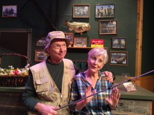 Kit Grimm and Patte Quinn in Farce of Habit