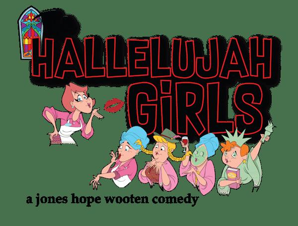 The Hallelujah Girls by Jones-hope-wooten